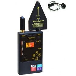 Wykrywacz podsłuchów GSM WiFi Bluetooth DECT Protect 1206i